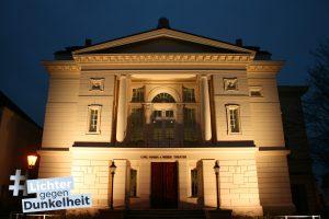 Ansicht Hauptportal der Gedenkstätte Bernburg